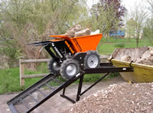 Ideal for rubble shifting and fast skip filling jobs